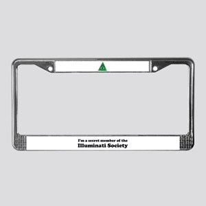 Illuminati Society License Plate Frame